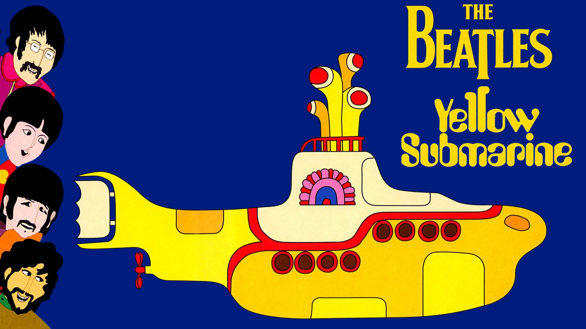 Yellow SubmarineYellow Submarine Stencil
